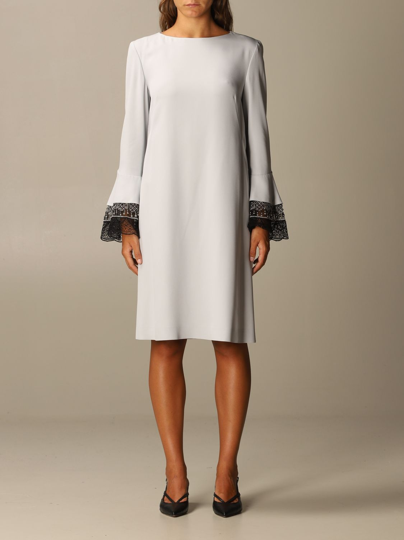 Robes Alberta Ferretti: Robes femme Alberta Ferretti gris 1