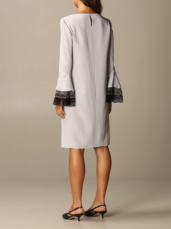 Robes Alberta Ferretti: Robes femme Alberta Ferretti gris 2