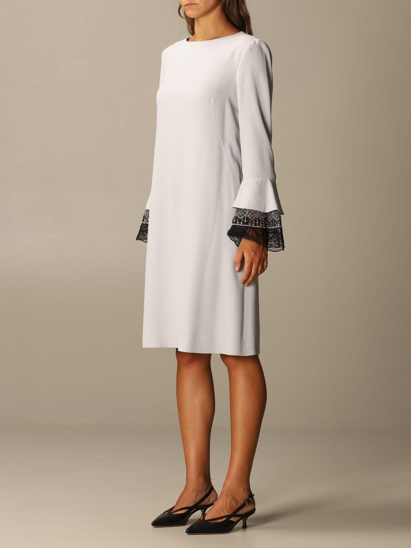 Robes Alberta Ferretti: Robes femme Alberta Ferretti gris 3