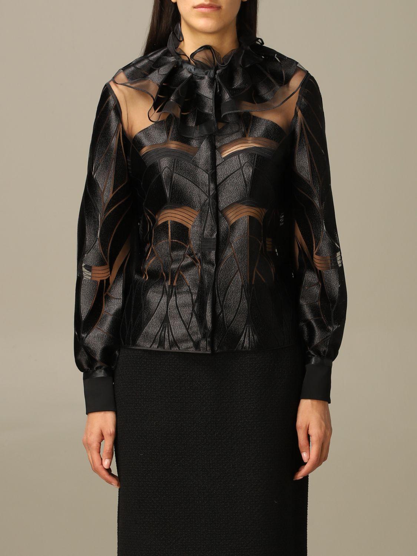 Blazer Alberta Ferretti: Blazer women Alberta Ferretti black 1