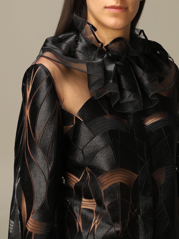 Americana Alberta Ferretti: Americana mujer Alberta Ferretti negro 5