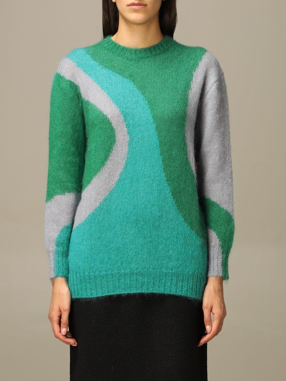 Sweater Alberta Ferretti: Sweater women Alberta Ferretti green 1