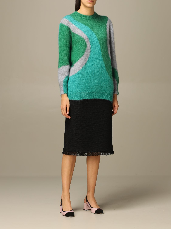 Sweater Alberta Ferretti: Sweater women Alberta Ferretti green 2