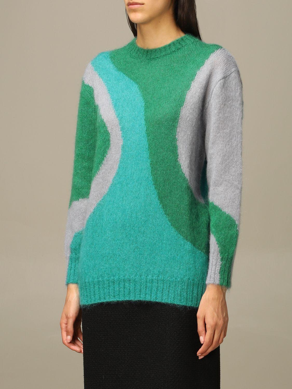 Sweater Alberta Ferretti: Sweater women Alberta Ferretti green 4