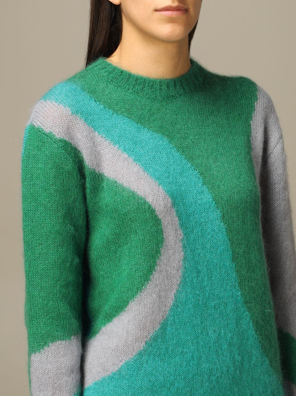 Sweater Alberta Ferretti: Sweater women Alberta Ferretti green 5