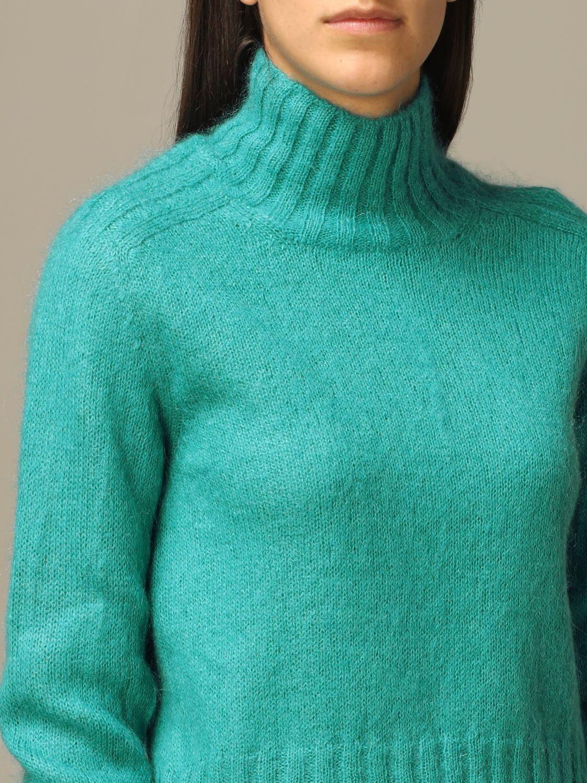 Sweater Alberta Ferretti: Sweater women Alberta Ferretti gnawed blue 5