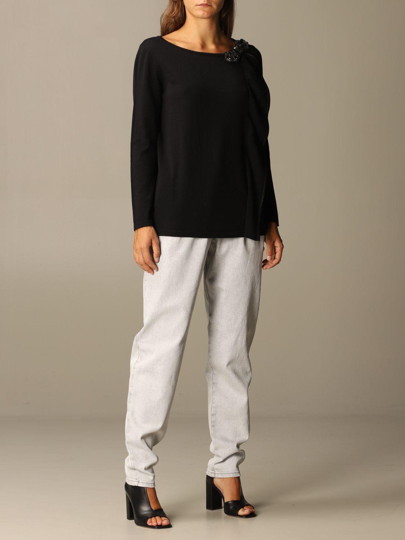 Jeans Alberta Ferretti: Jeans femme Alberta Ferretti gris 2