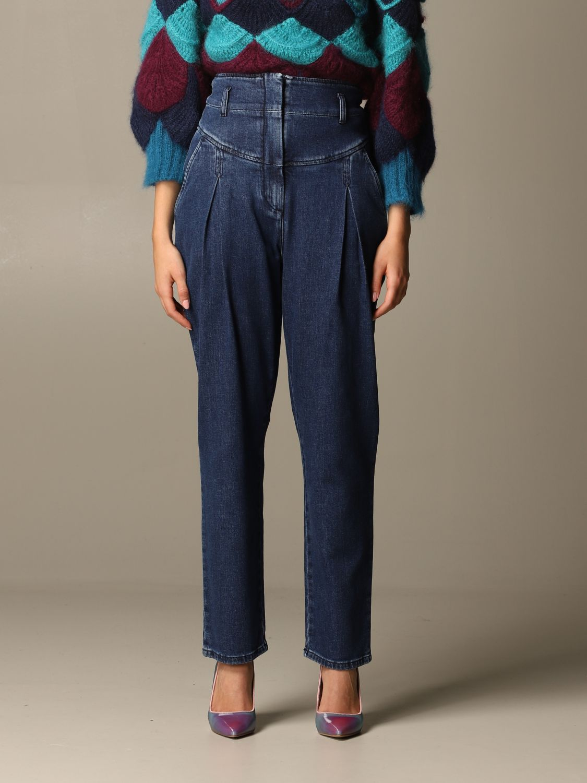 Jeans Alberta Ferretti: Jeans mujer Alberta Ferretti denim 1