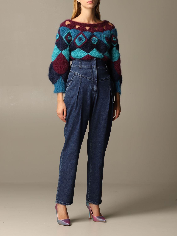 Jeans Alberta Ferretti: Jeans mujer Alberta Ferretti denim 2