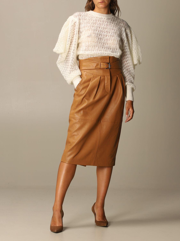Skirt Alberta Ferretti: Skirt women Alberta Ferretti leather 2
