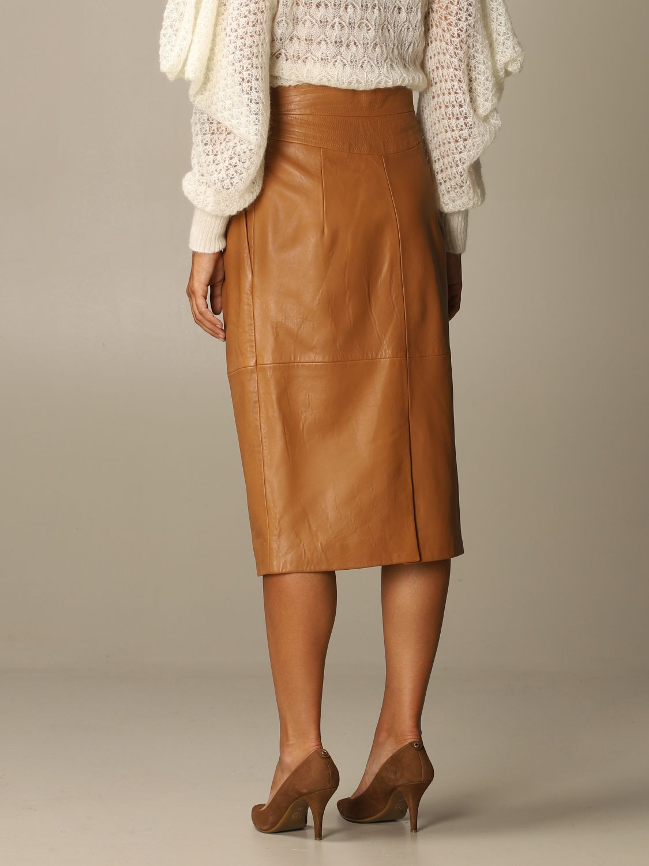 Skirt Alberta Ferretti: Skirt women Alberta Ferretti leather 3