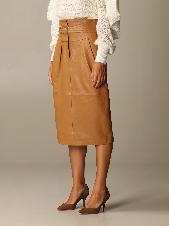 Skirt Alberta Ferretti: Skirt women Alberta Ferretti leather 4