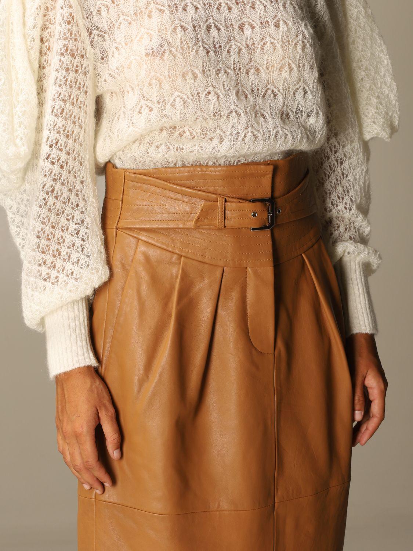 Skirt Alberta Ferretti: Skirt women Alberta Ferretti leather 5