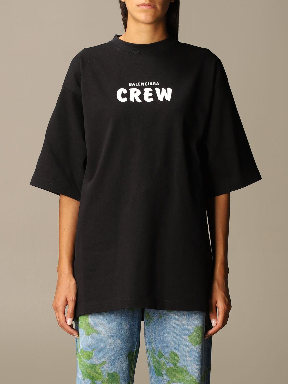 T-Shirt Balenciaga: T-shirt women Balenciaga black 1