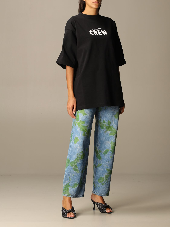 T-Shirt Balenciaga: T-shirt women Balenciaga black 2