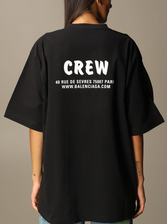 T-Shirt Balenciaga: T-shirt women Balenciaga black 4