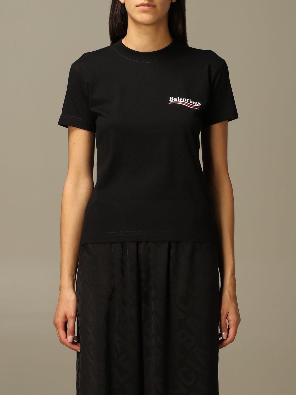 T-Shirt Balenciaga: T-shirt damen Balenciaga schwarz 1
