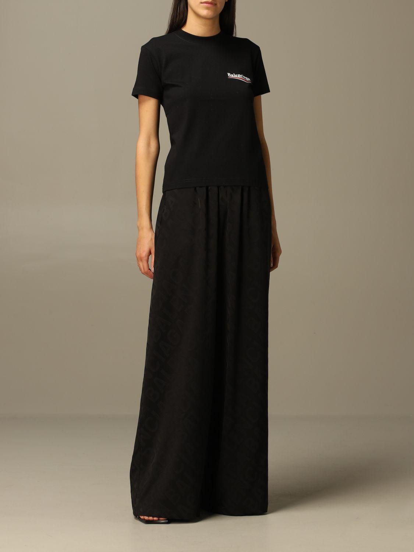 T-Shirt Balenciaga: T-shirt damen Balenciaga schwarz 2