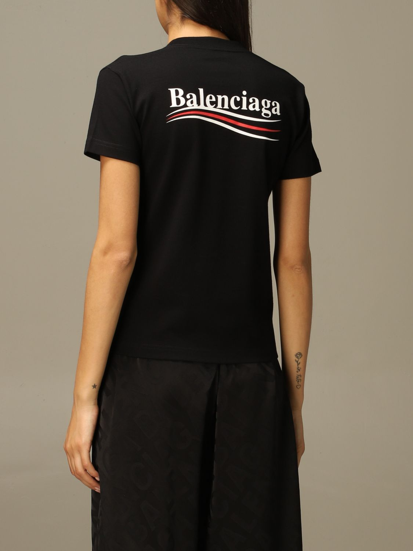 T-Shirt Balenciaga: T-shirt damen Balenciaga schwarz 3