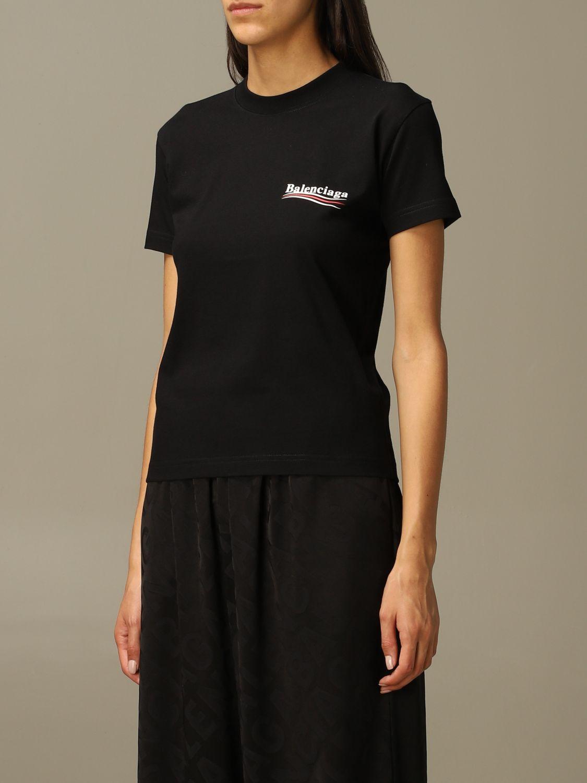 T-Shirt Balenciaga: T-shirt damen Balenciaga schwarz 4
