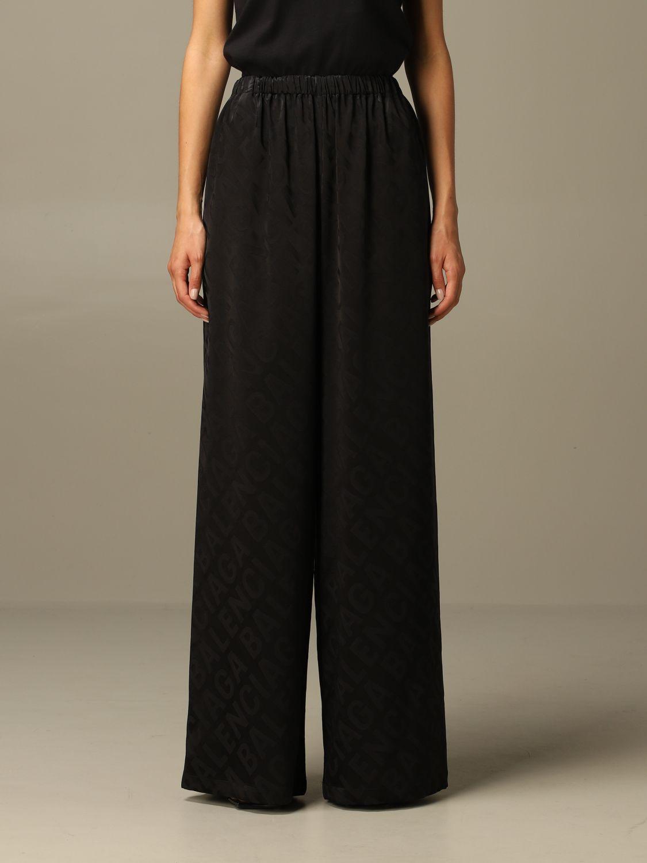 Trousers Balenciaga: Trousers women Balenciaga black 1