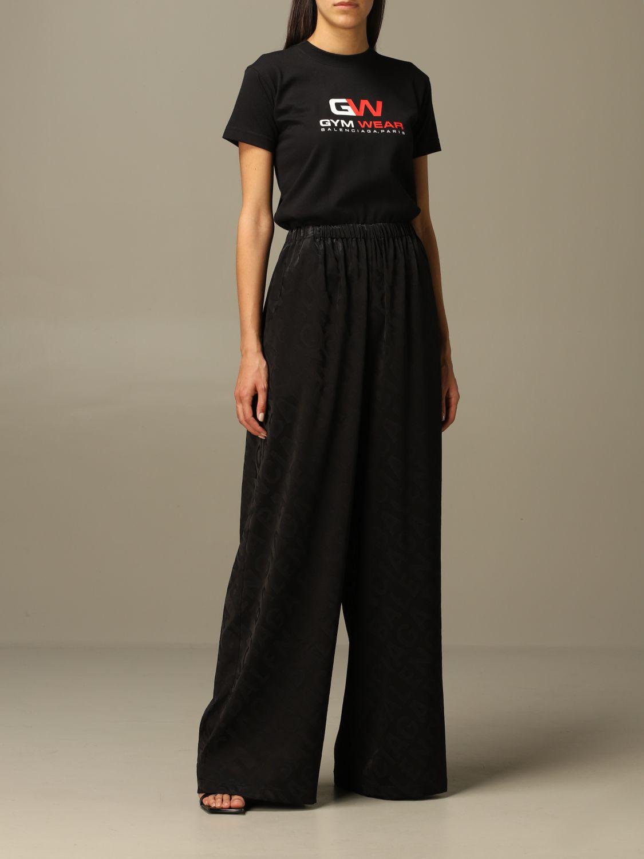 Trousers Balenciaga: Trousers women Balenciaga black 2