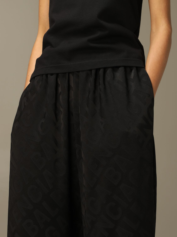 Trousers Balenciaga: Trousers women Balenciaga black 4