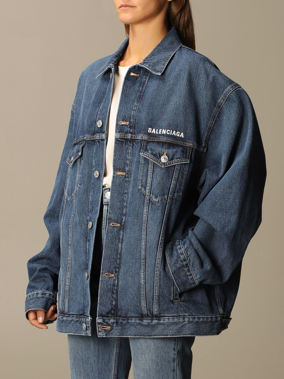Jacket Balenciaga: Jacket women Balenciaga denim 4