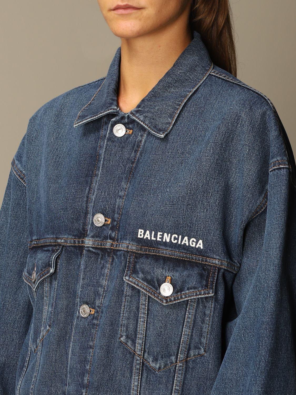 Jacket Balenciaga: Jacket women Balenciaga denim 5