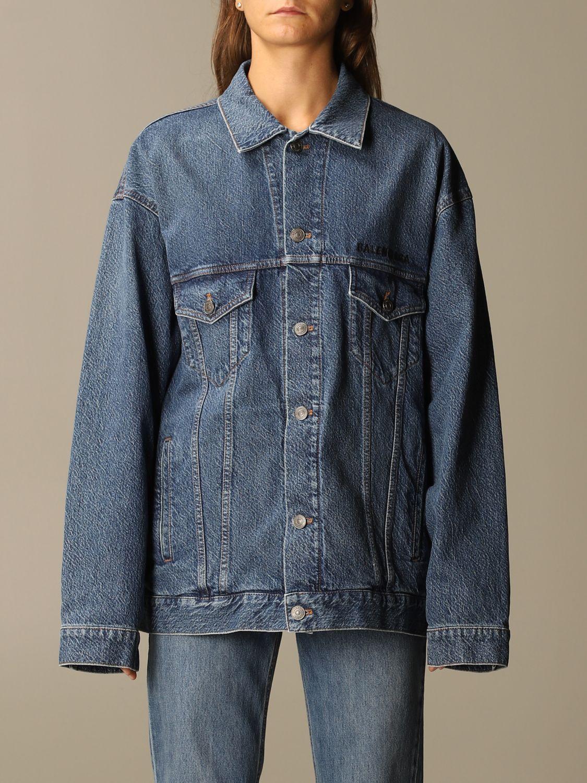 Jacket Balenciaga: Jacket women Balenciaga blue 1
