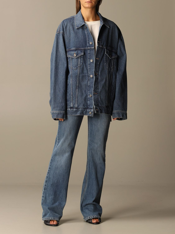 Jacket Balenciaga: Jacket women Balenciaga blue 2