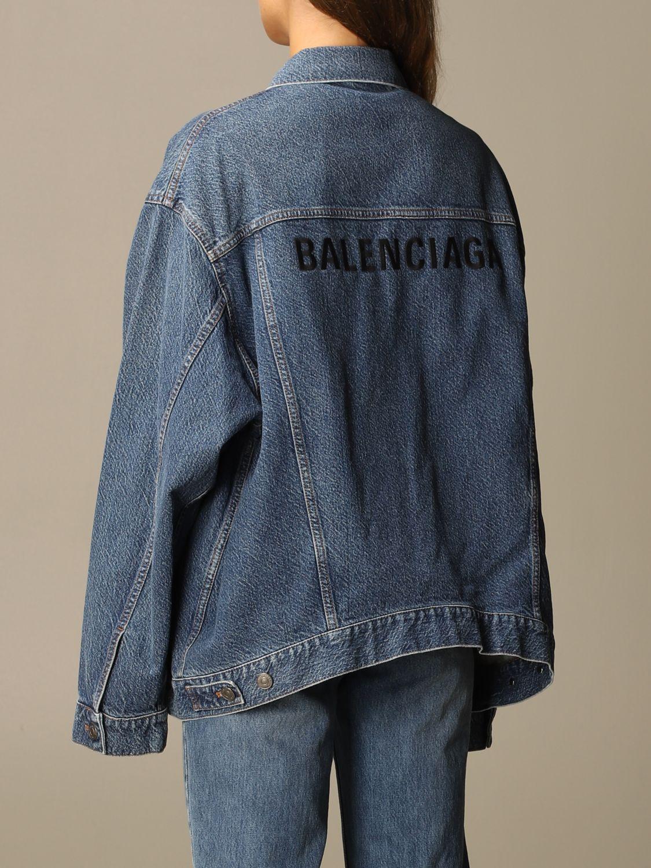 Jacket Balenciaga: Jacket women Balenciaga blue 3