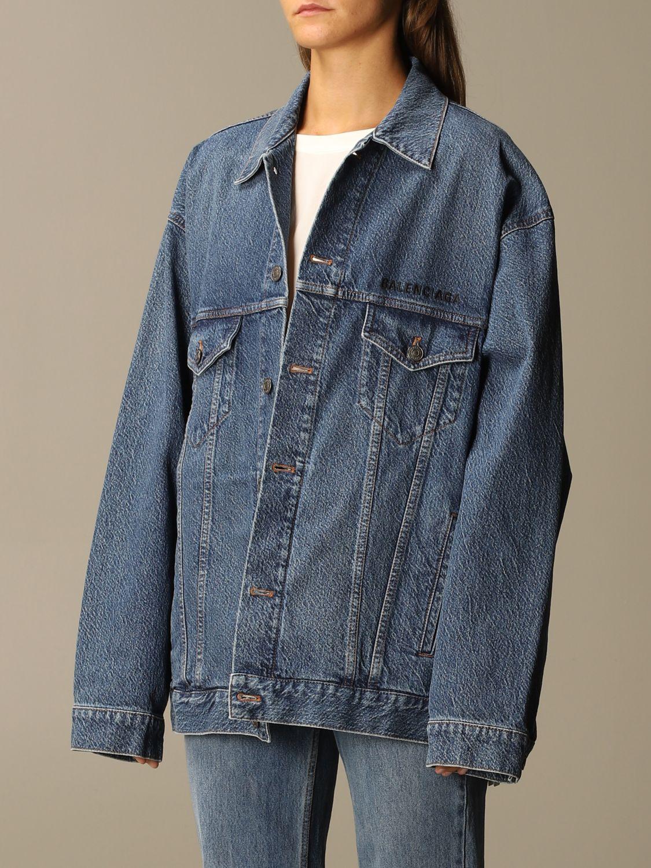 Jacket Balenciaga: Jacket women Balenciaga blue 4