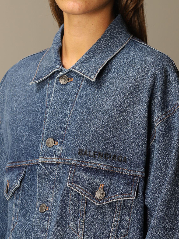 Jacket Balenciaga: Jacket women Balenciaga blue 5