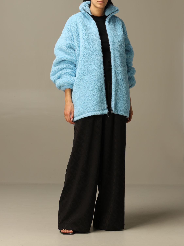 Jacket Balenciaga: Jacket women Balenciaga gnawed blue 2