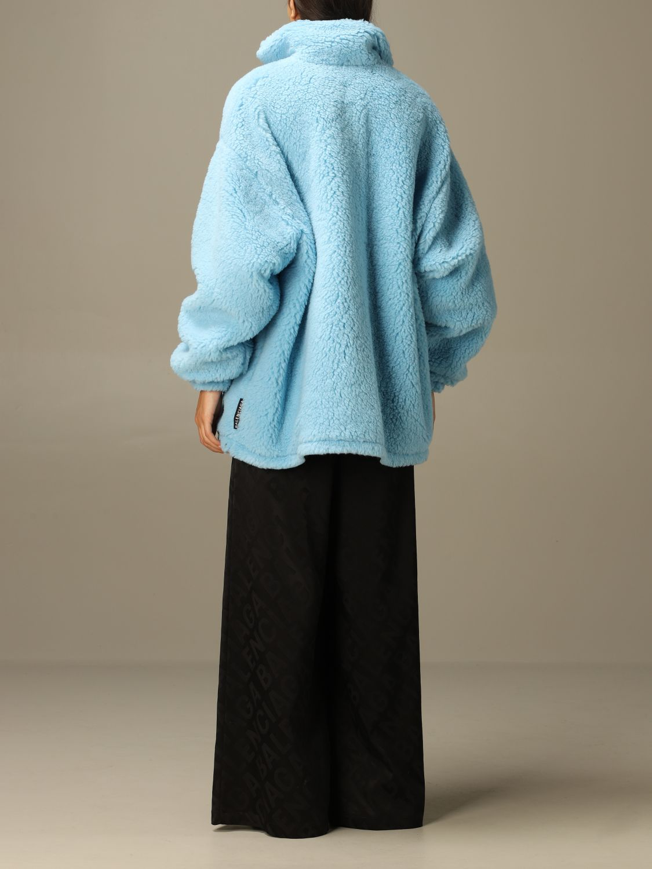 Jacket Balenciaga: Jacket women Balenciaga gnawed blue 3