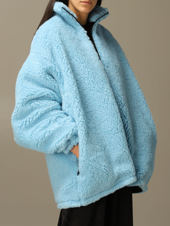 Jacket Balenciaga: Jacket women Balenciaga gnawed blue 5