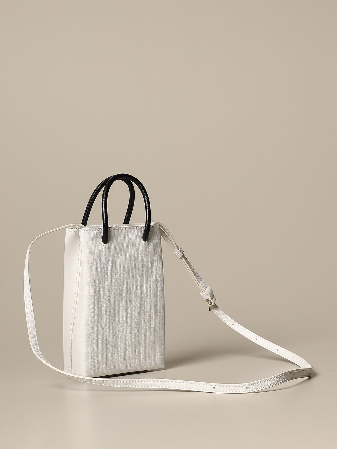 Mini bag Balenciaga: Shoulder bag women Balenciaga white 2