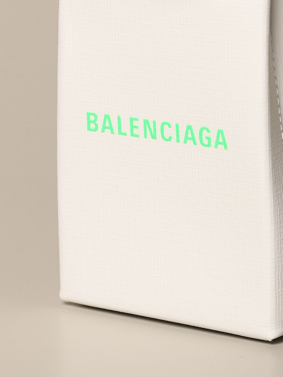Mini bag Balenciaga: Shoulder bag women Balenciaga white 3
