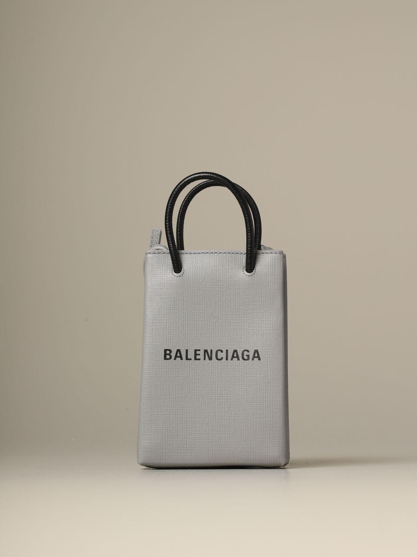 Mini bag Balenciaga: Shoulder bag women Balenciaga grey 1
