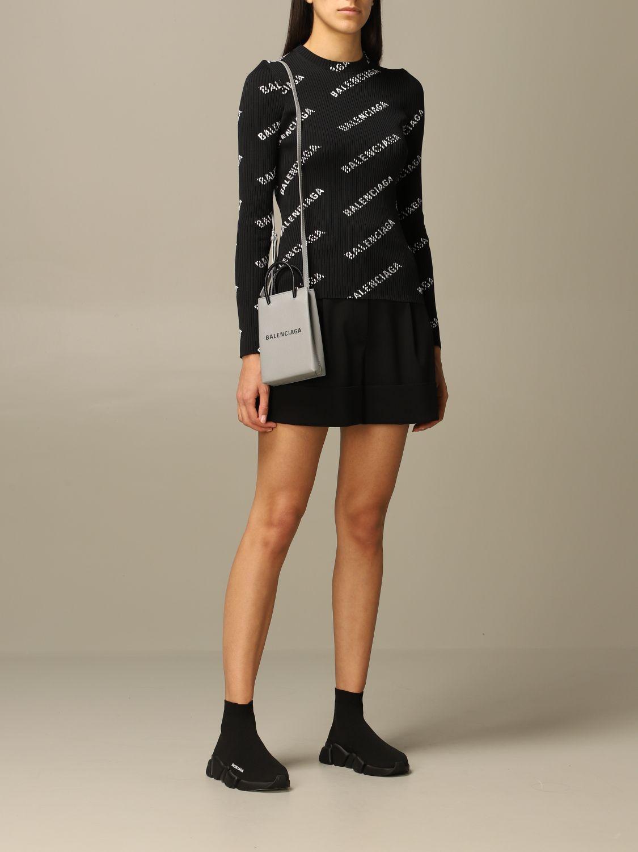 Mini bag Balenciaga: Shoulder bag women Balenciaga grey 2