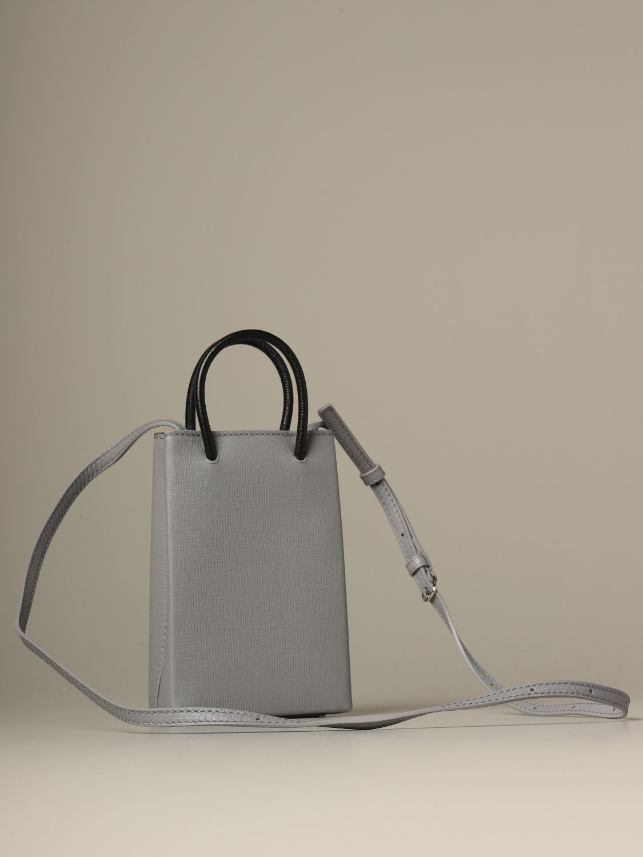 Mini bag Balenciaga: Shoulder bag women Balenciaga grey 3