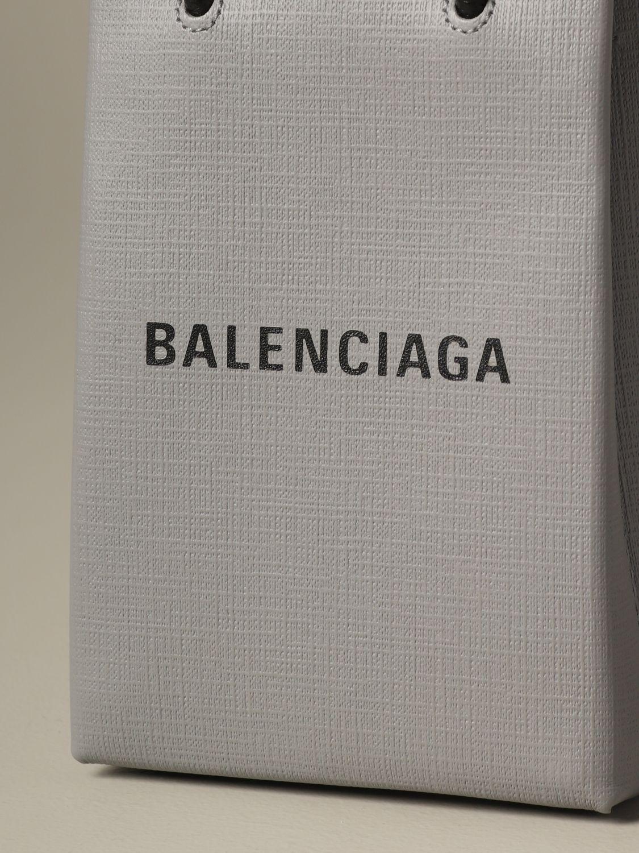 Mini bag Balenciaga: Shoulder bag women Balenciaga grey 4