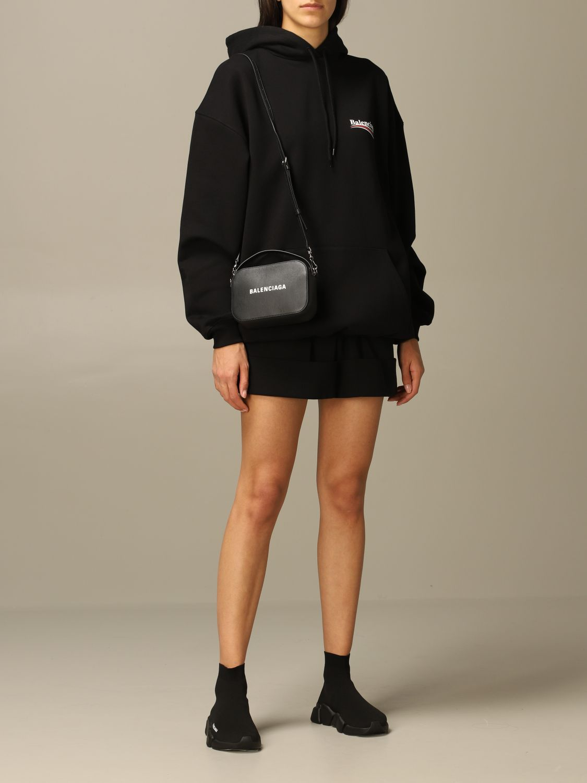 Mini bag Balenciaga: Shoulder bag women Balenciaga black 2