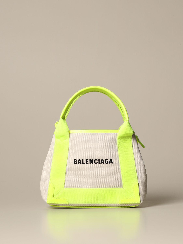 Shoulder bag Balenciaga: Shoulder bag women Balenciaga yellow 1
