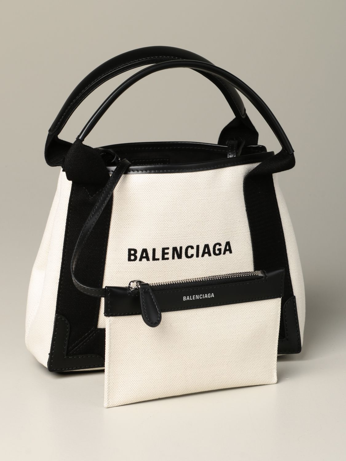 Mini bag Balenciaga: Shoulder bag women Balenciaga white 4