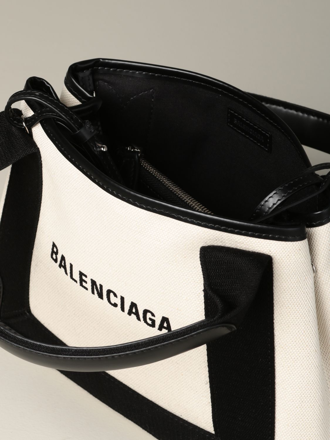 Mini bag Balenciaga: Shoulder bag women Balenciaga white 5