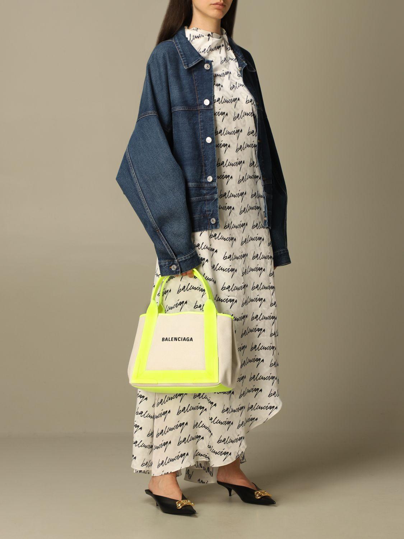 Shoulder bag Balenciaga: Shoulder bag women Balenciaga yellow 2