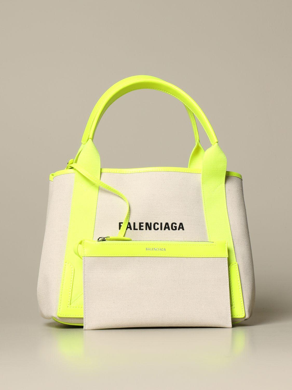 Shoulder bag Balenciaga: Shoulder bag women Balenciaga yellow 4