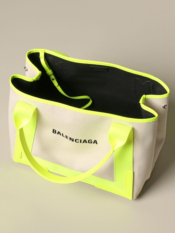 Shoulder bag Balenciaga: Shoulder bag women Balenciaga yellow 5